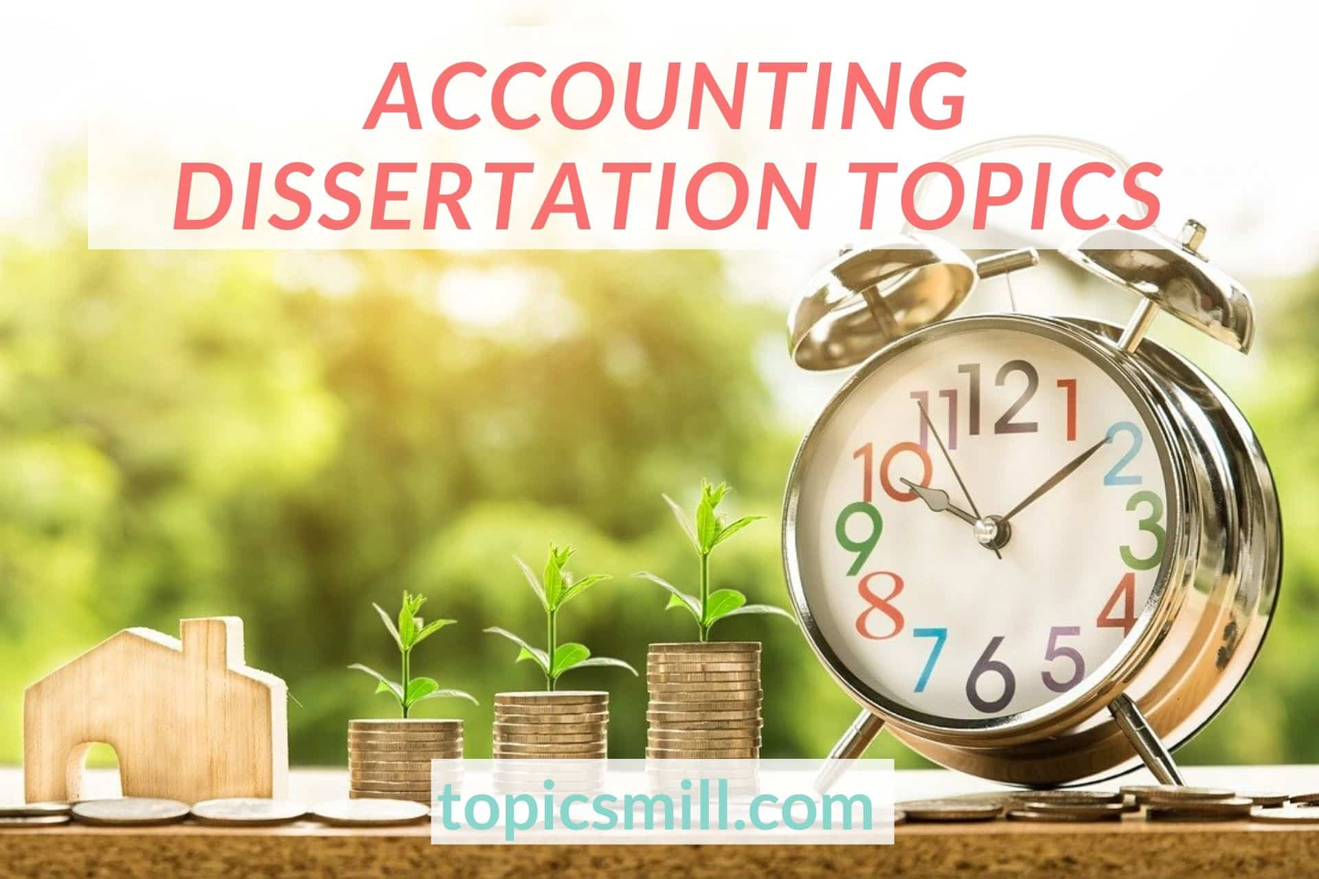 Accounting dissertation ideas essay on going to college