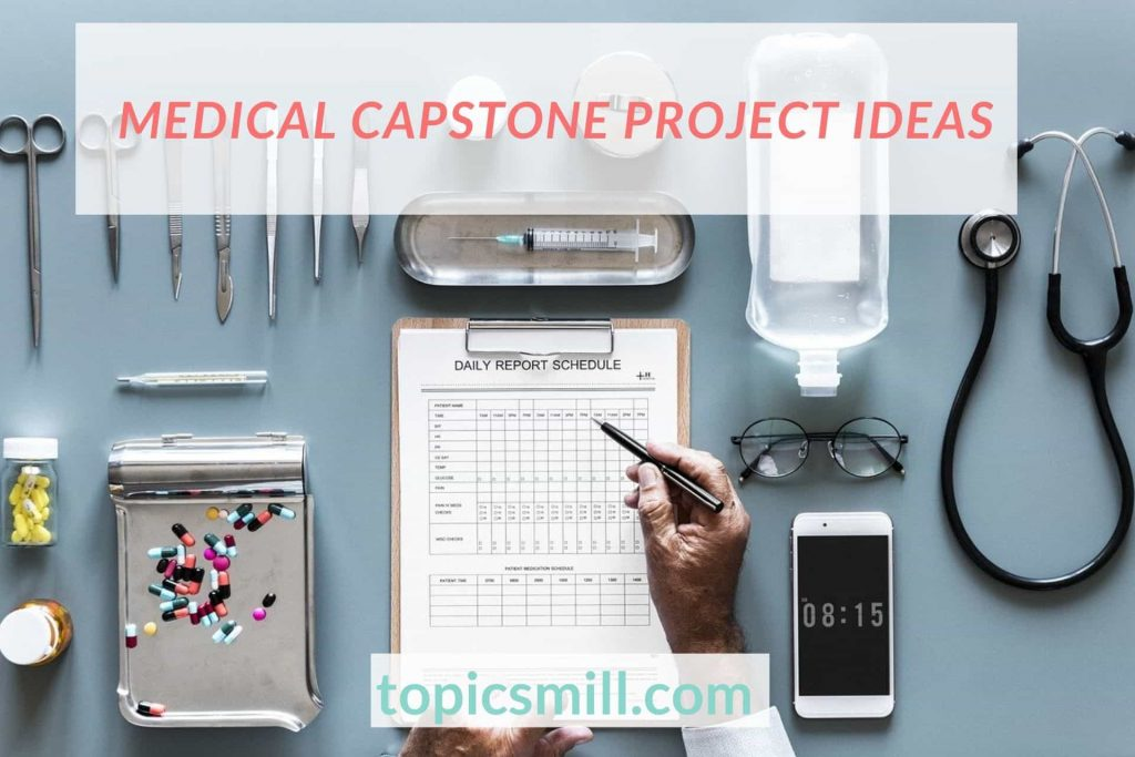 List of 37 Medical Capstone Project Ideas