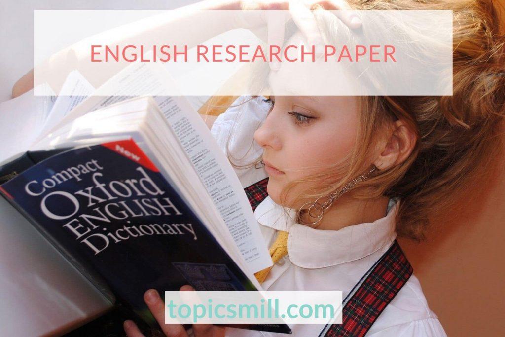 English Paper Topics