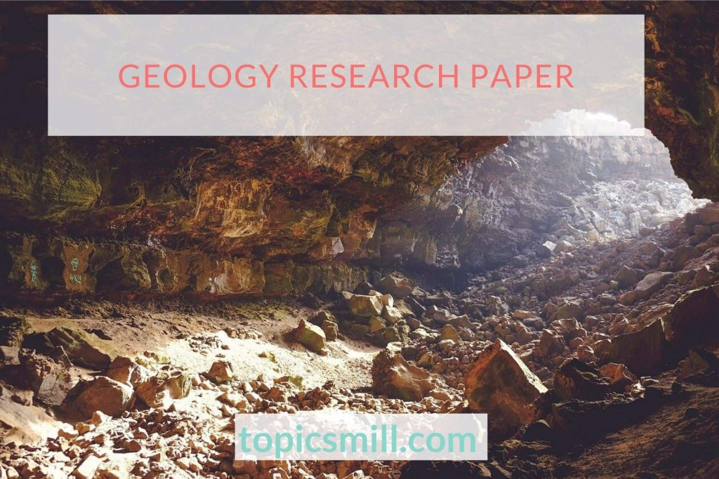 Geology Paper Topics