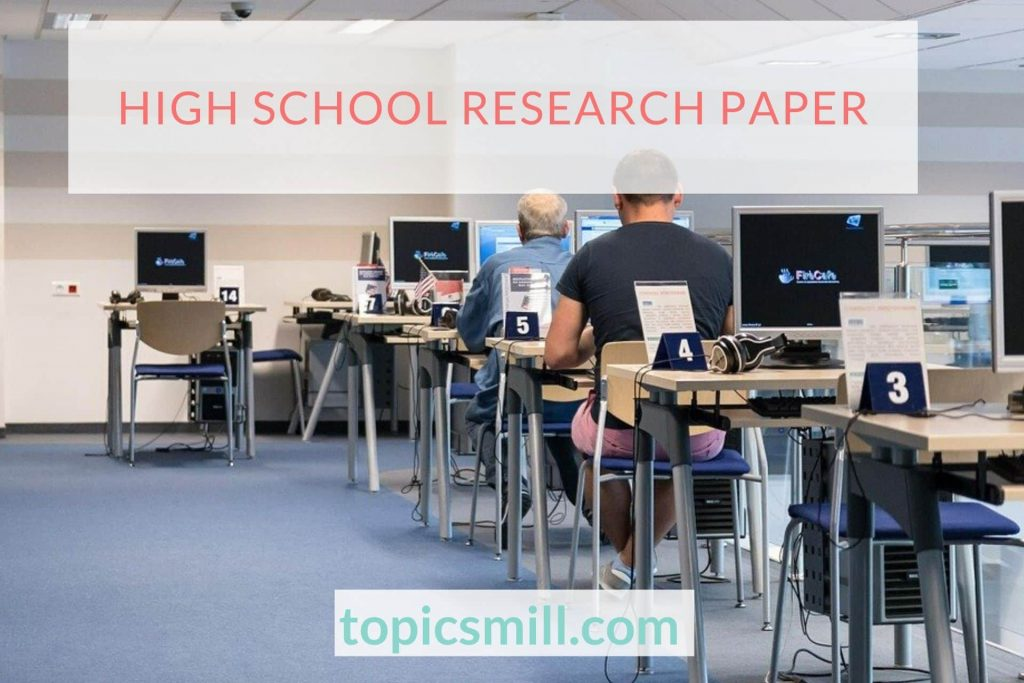 High School Paper Topics