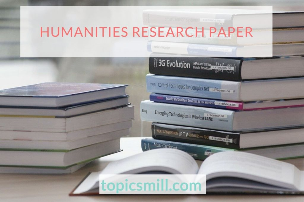 Humanities Paper Topics