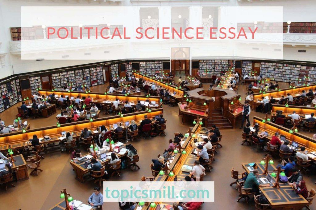 Political Science Essay Topics